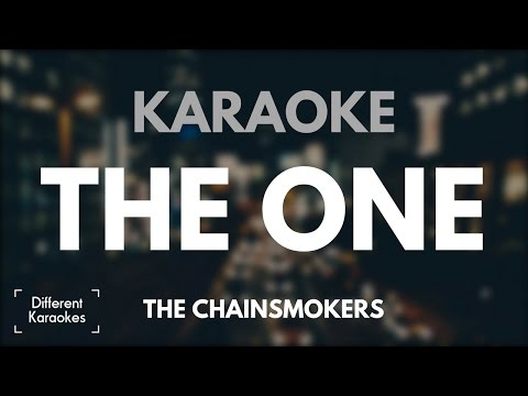 The Chainsmokers - The One (Karaoke/Instrumental)