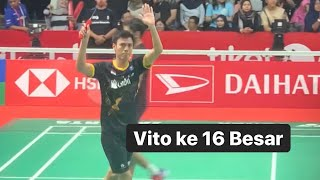Highlights Shesar Hiren Rhustavito Vs Kidambi Srikanth Daihatsu Indonesia Masters 2020