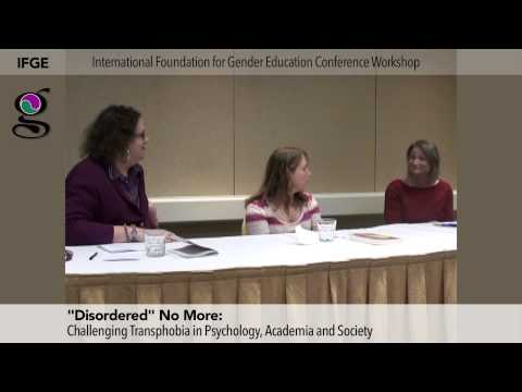 "Q&A, ""Disordered"" No More: Challenging Transphobia in Psychology, Academia and Society"