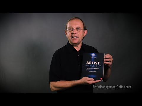 Artist Management Online Course Introduction