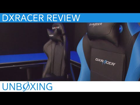 DXRacer Gaming Chairs Video Review (OH/FE08/N & OH/IB11/NB)