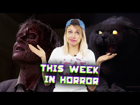 This Week in Horror - November 6, 2017 - Pet Sematary, Horror Box Office, The Crow