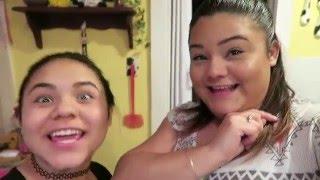 Cutting & Coloring hair!   Vlogmas 2015