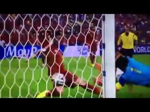 【W杯】スペイン vs チリ0-2 全ゴール ハイライト FIFAワールドカ