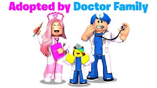 I got Adopted by DOCTOR FAMILY in BrookHaven! 🏥💊(Roblox)