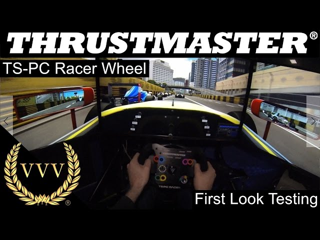 Thrustmaster TS-PC Racer Wheel - First Look Test