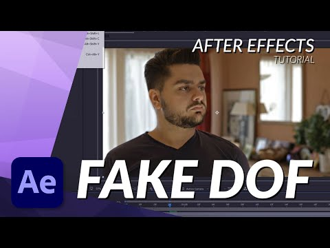 How To Fake Depth Of Field (DOF) in After Effects Tutorial