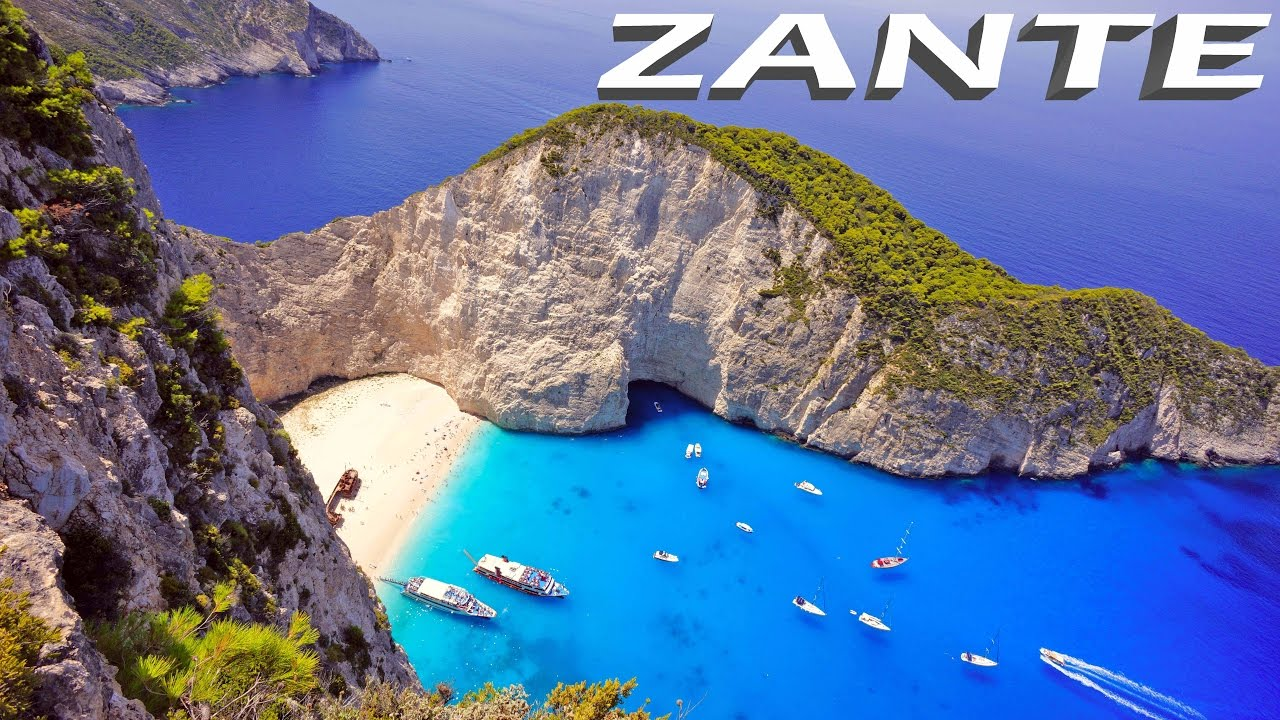 Hd Santorini Wallpaper Zante Zakynthos Greece Hd Youtube