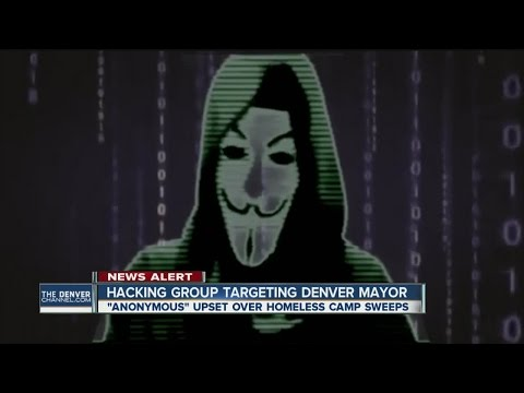 Hacking group targeting Denver mayor