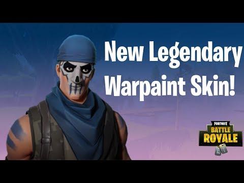 *NEW* WARPAINT Skin Gameplay! - Fortnite Battle Royale