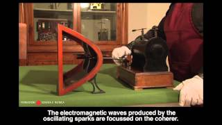 Hertz experiments with electromagnetic waves