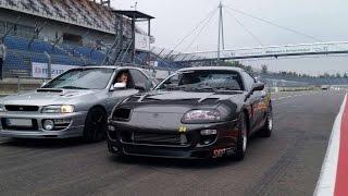 1038HP Draggers Racing Supra vs 337HP Subaru Impreza GF8