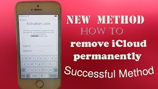 The Way to Delete iCloud✔️Remove Account Permanently from Any ios✔️iCloud Unlock 💯 New Method ✅🙀