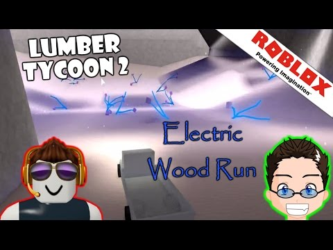 Roblox - Lumber Tycoon 2 - Blue Wood Run for Code Blue