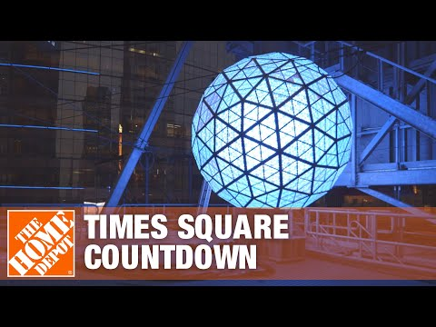 How LEDs Light Up the Times Square Countdown - The Home Depot