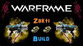 [U21.1] Warframe - Zakti Build [2 Forma] | N00blShowtek