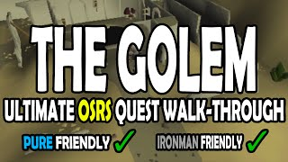 [OSRS] The Golem Quest Guide for Pures on Old School RuneScape