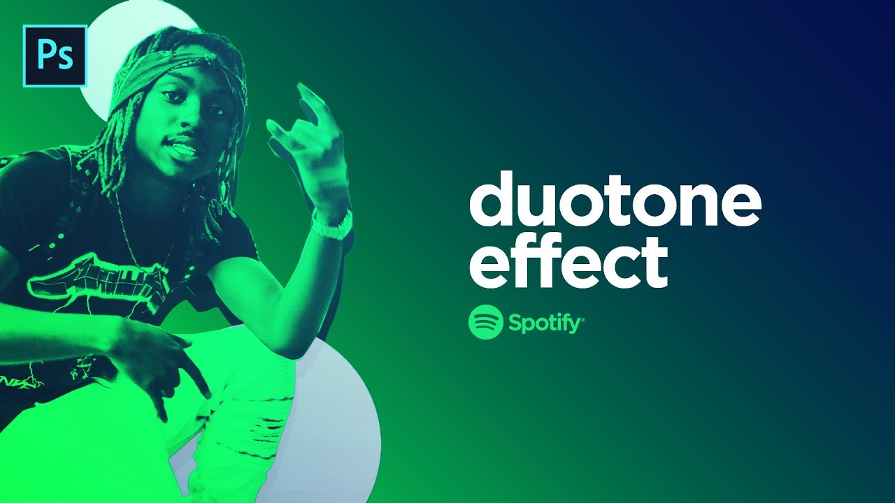 How to Make the Spotify Duotone Effect! - Photoshop Tutorial