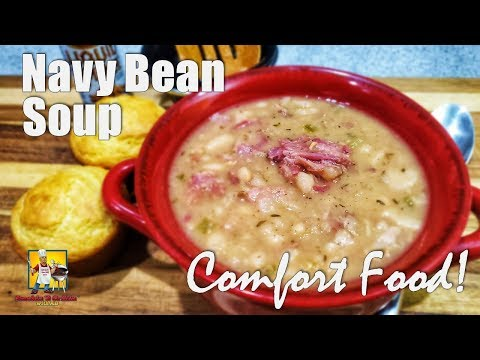 Navy Bean Soup Recipe | Ham and Bean Soup
