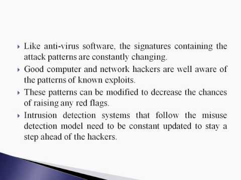 Intrusion Detection System PPT Presentation