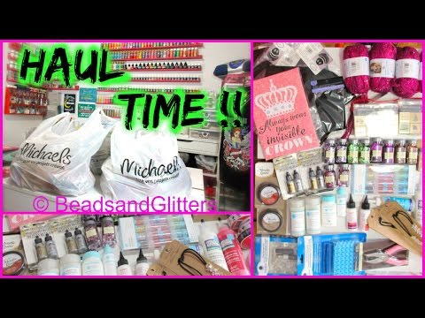 Michaels Collective Haul | February 2016