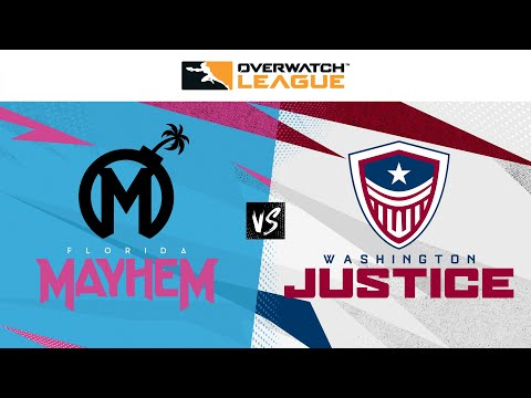 Florida Mayhem vs Washington Justice | May Melee Qualifiers | Week 3 Day 4 — West