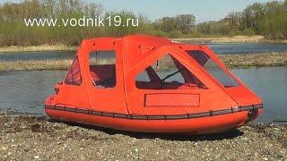Лодка ФРЕГАТ М-430 FM Lux + водомет + тент ходовой
