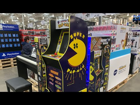 Arcade1up Super PAC-MAN (Costco) from Sean and Ryan Studios