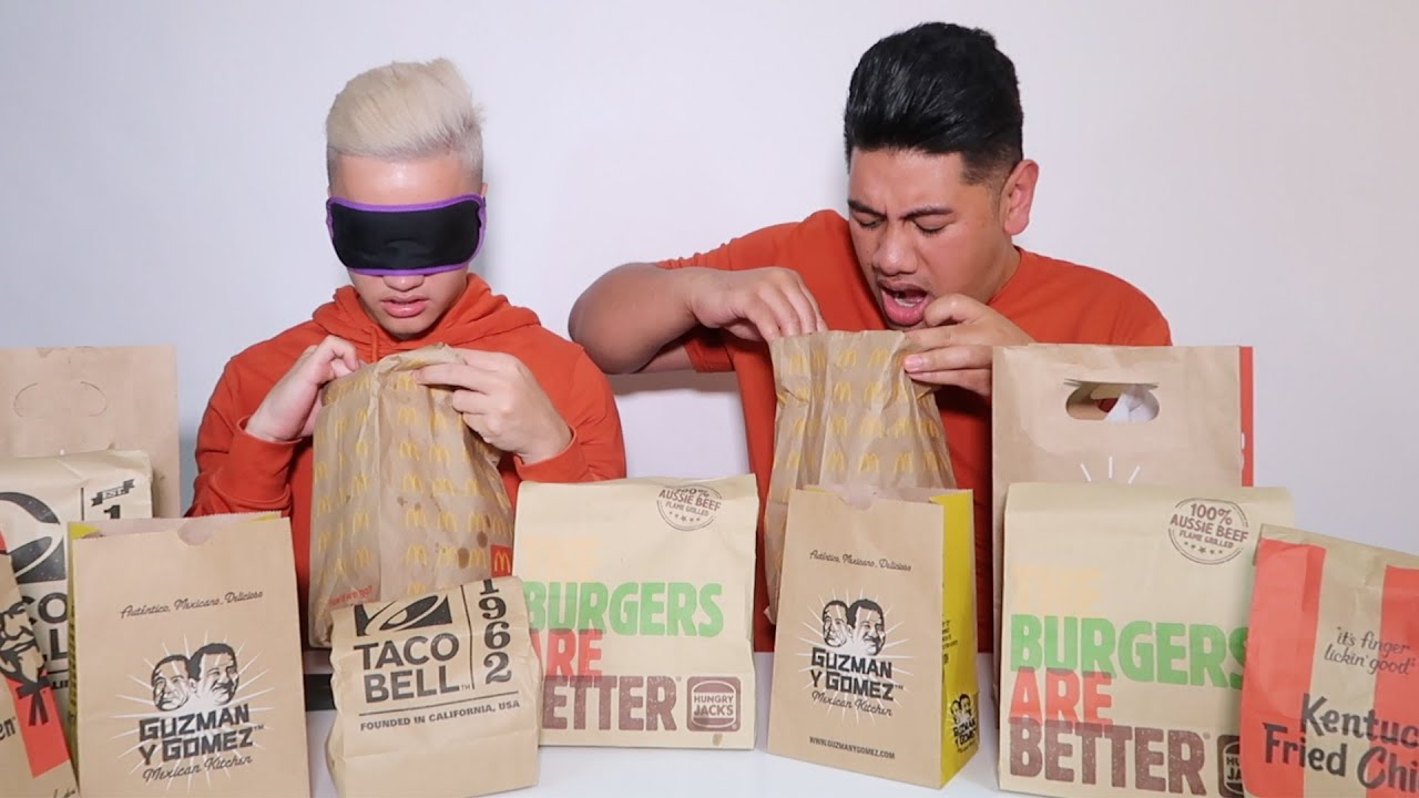 Guess The Fast Food Challenge