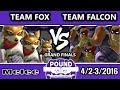 Pound 2016 - Team Fox Vs. Team Captain Falcon - Mono-Character Crews - SSBM