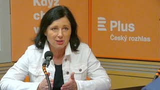 Věra Jourová: V Evropě zhrubla a ztěžkla atmosféra vinou sociálních sítí a internetu