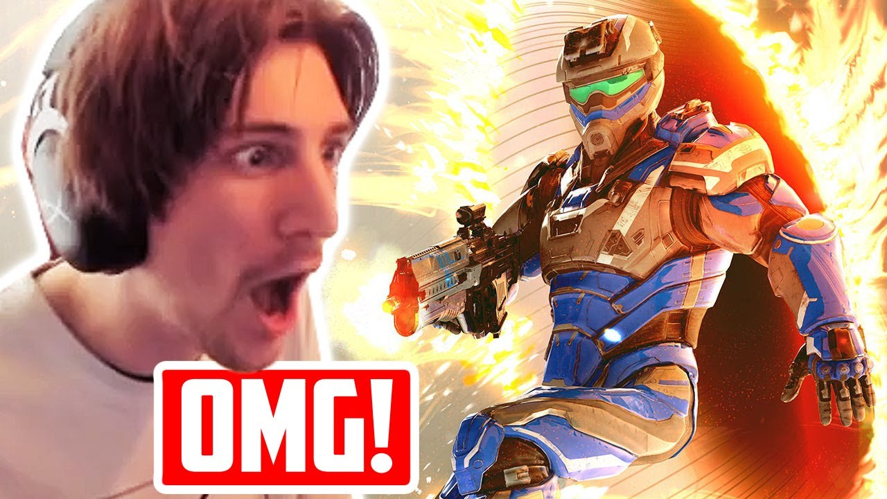 Halo and Portal had a baby... xQc Plays Splitgate!