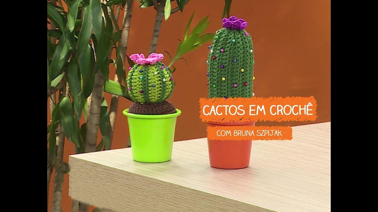 Loja Artesanato Rio De Janeiro ~ Cactos em Croch u00ea com Bruna Szpijak Vitrine do Artesanato