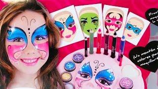 Maquillaje Kit de Pinturas de Maquillaje Infantil | Juegos de Maquillar