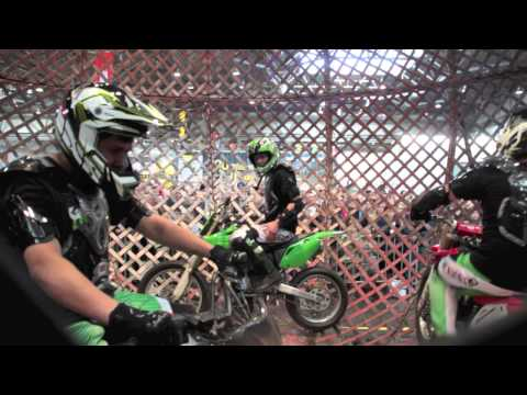 MOTORRAD MESSE LEIPZIG 2014: Globe of Speed