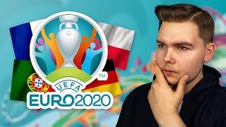 EURO 2020: MOJE PRZEWIDYWANIA!
