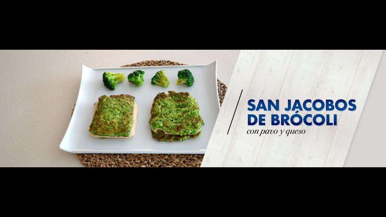 San jacobos de brócoli con pavo y queso   Vídeo receta