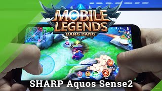 Sharp Aquos Sense2 - Mobile Legends Gameplay & Settings