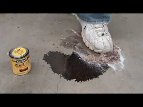Wood Stain Removal From Cement Wmv