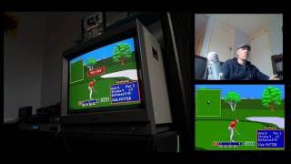 PGA tour golf 2 - Sega Mega Drive - Full 18 hole round!