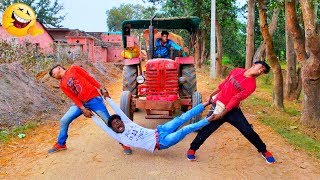 Must Watch New Funny Video😂😂Top New Comedy Video 2020 |Try To Not Laugh 8|#Pooryoutuber |#FmTV