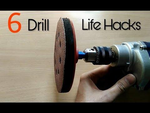 6 Useful Drill Machine Life Hacks