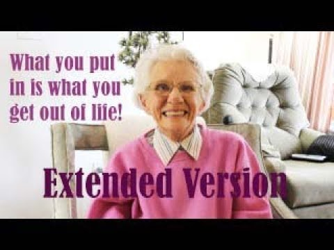 Life Lessons From A 97 Year Old Scottish American (Extended Version)