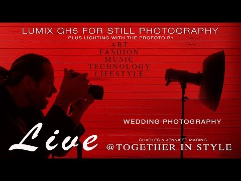 Lumix GH5 - Luxury Weddings and Lighting with the Profoto B1 LIVE
