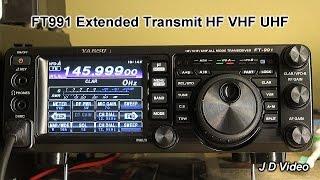 FT991 Extended Transmit range