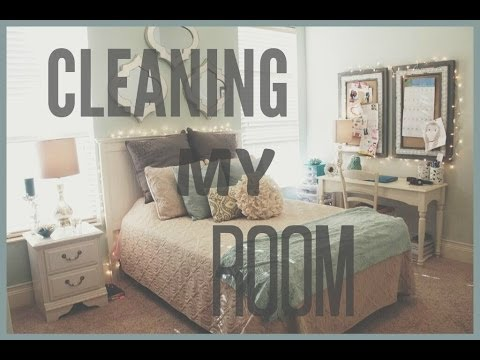 Cleaning My Room + My Tips! | Jessica Reid