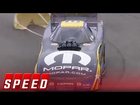 Courtney Force Vs. Matt Hagan - Epping Funny Car Final   2017 NHRA DRAG RACING