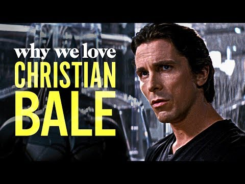 Christian Bale is a Beautiful Chameleon