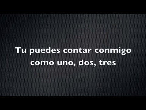 Bruno Mars - Count on Me (letra español)