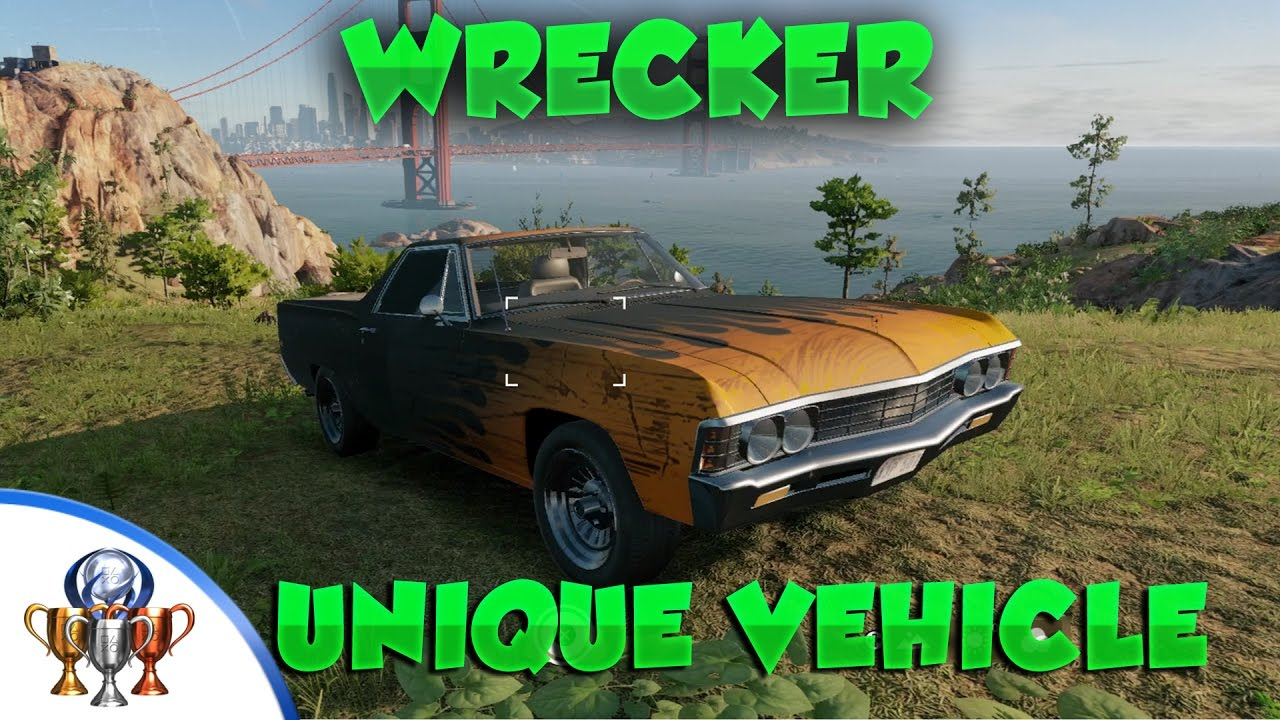 Watch Dogs 2 Unique Vehicle Location - Wrecker - How to Find The ...